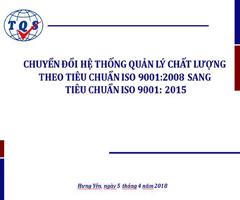 Chuyển đổi ISO 9001 tại Công ty Minh Ngọc